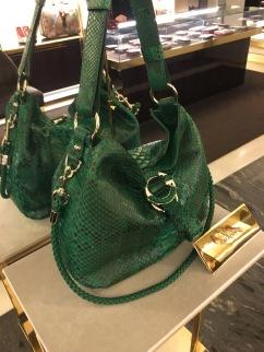 Gucci's Roma store's exclusive handbag.