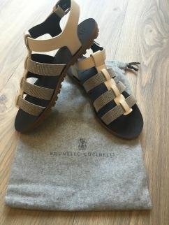 Brunello Cucinelli Spring/ Summer 2016 Collection sandals.