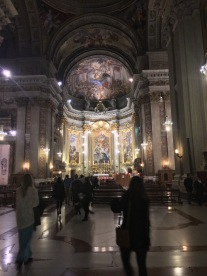 Sant'Ignazio Church in Rome.
