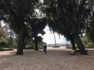 Me in the Villa Borghese Gardens.