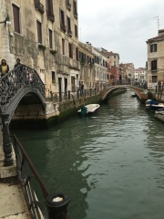 A few of the canals in Venice