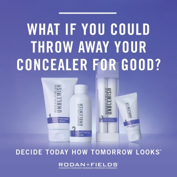 Rodan + Fields Unblemish, for fighting acne.