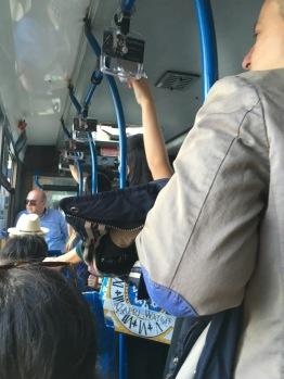 The bus ride to Anacapri.